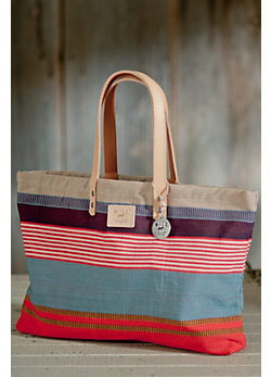 Weaver's House Reversible Cotton Canvas Tote