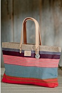 Weaver's House Reversible Cotton Canvas Tote Bag