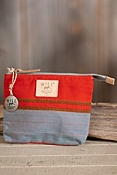 Weaver's House Cotton Canvas Zip Pouch