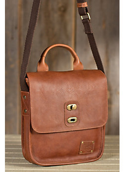 Will Bowdie Bridle Leather Messenger Bag