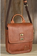 Bowdie Bridle Leather Messenger Bag