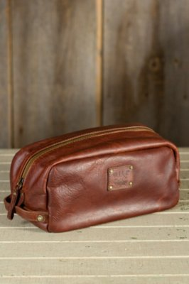 Will Grady Bridle Leather Travel Kit