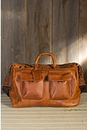 Traveler Bridle Leather Duffel Bag