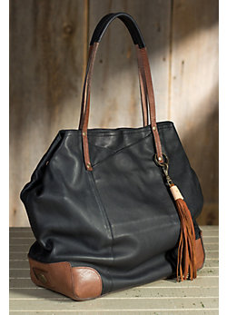 Will Adeline Deerskin Leather Tote Bag