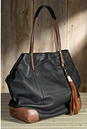 Adeline Deerskin Leather Tote Bag