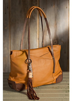 Will Florence Deerskin Leather Tote Bag