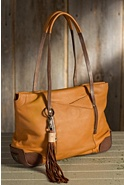 Women's Florence Deerskin Leather Tote Bag