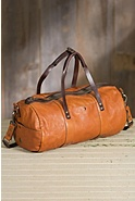 Will Benchwork Leather Duffel Bag
