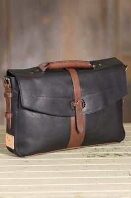 Will Bandon Leather Messenger Bag