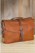 Will Bandon Leather Messenger Bag
