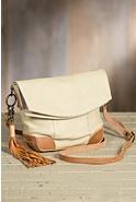 Will Hazel Deerskin Leather Crossbody Handbag