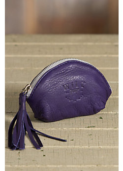 Will Blossom Deerskin Leather Coin Pouch