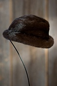 Women's Canadian Mink Fur Hat