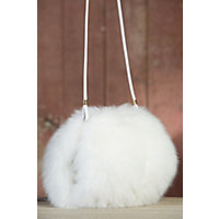 Norwegian Fox Fur Muff Handbag $795.00 AT vintagedancer.com
