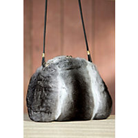 Women's Chinchilla Fur Muff Handbag Western & Country
