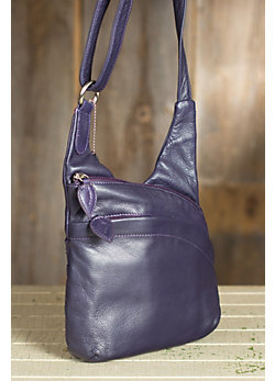 Vanessa Leather Crossbody Handbag