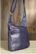 Women's Vanessa Leather Crossbody Handbag