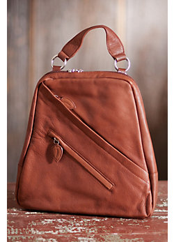 Women's Monica Leather Backpack Handbag