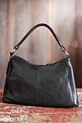 Women's Robin Zip Top Convertible Leather Handbag