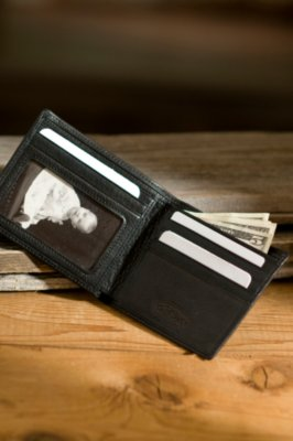 ID Thinfold Leather Wallet