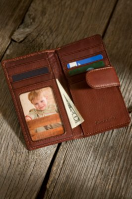 Card Case Leather Wallet