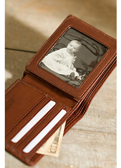 Flipper Bifold Leather Wallet