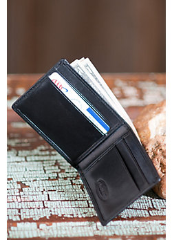 Mini Thinfold Leather Wallet