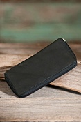 Women's Zip-Around Clutch Leather Wallet