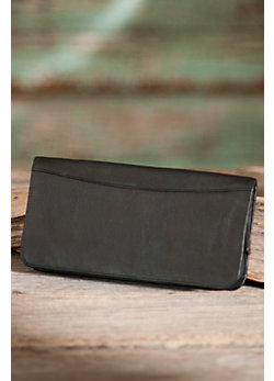 Travel Organizer Leather Wallet