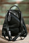 Women's Lily Leather Backpack Handbag