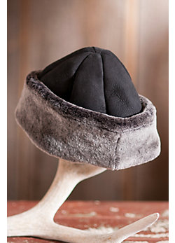 Cuff  Shearling Sheepskin Hat