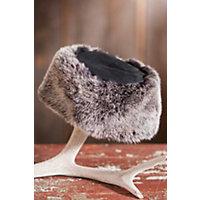 Reversible Sheepskin Cossack Hat, Black Frost, Size M / L (7 - 7 1 / 2) Western & Country