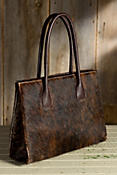 Tulsa Calfskin Leather Tote Bag