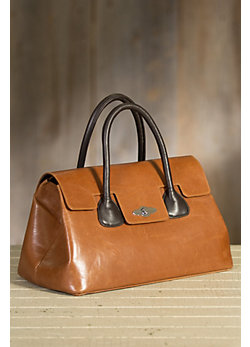 Overland Glendale Italian Leather Handbag