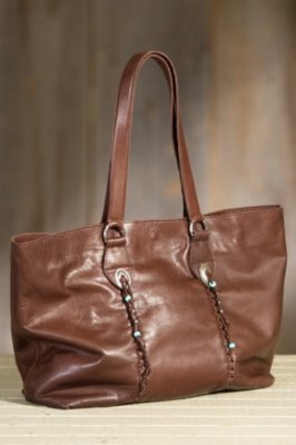 Overland Taos Leather Tote Bag