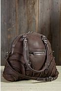 Spanish Merino Sheepskin Bowler Handbag