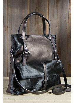 Women's Plonge Lambskin Leather Tote Bag