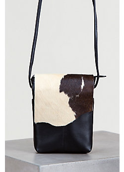 Women's Eckert Small Cowhide Crossbody Handbag