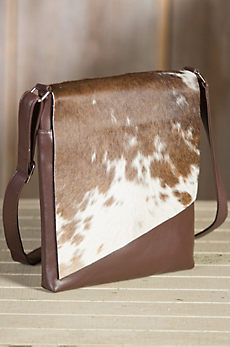 Eckert Medium Cowhide Crossbody Handbag