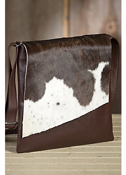 Eckert Large Cowhide Crossbody Handbag