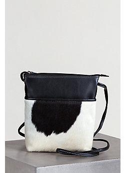 Women's Ashland Cowhide Crossbody Handbag