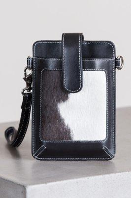 Lamar Cowhide Crossbody Phone Case Wallet