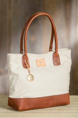 Will Everyday Canvas and Leather Tote Bag