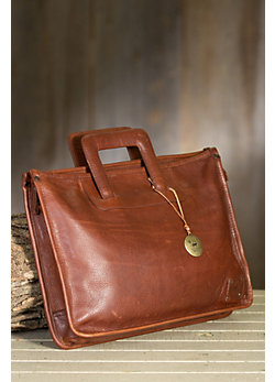Will Eli Bridle Leather Briefcase
