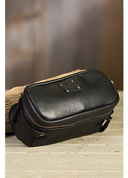 Will Desmond Leather Travel Kit