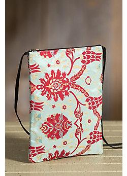Rockwell Tharp Bora Bora Brocade Crossbody Handbag