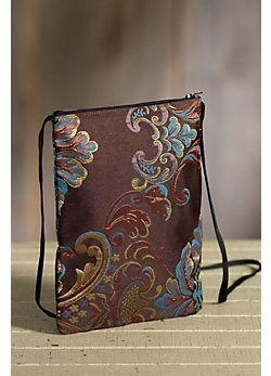 Rockwell Tharp Passion Ranch Brocade Crossbody Handbag