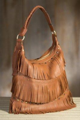Overland Penelope Fringed Leather Tote Bag