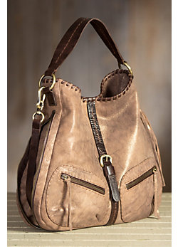 Overland Nadia Leather Crossbody Handbag