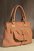 Overland Gisele Leather Crossbody Handbag